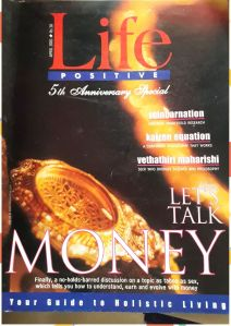 cover of April 2001, Life Positive