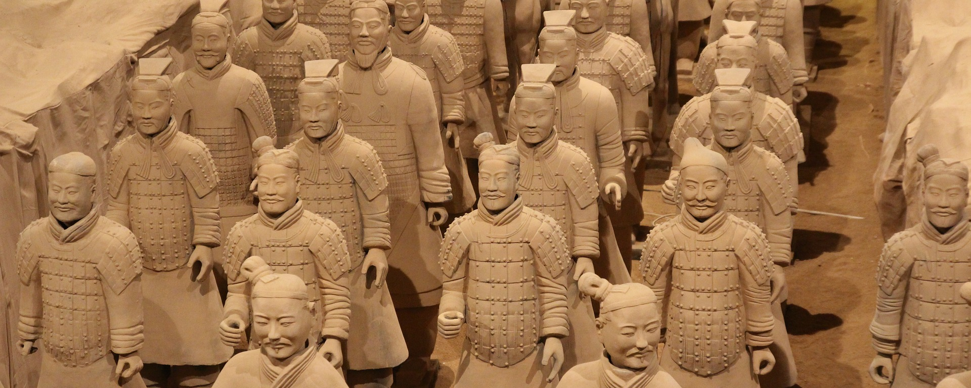 terracotta army-Image by artemtation from Pixabay