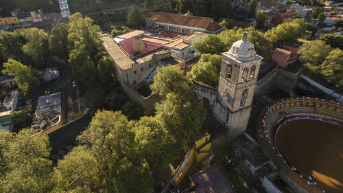 Franciscan Ensemble of the Monastery and Cathedral of Our Lady of the Assumption of Tlaxcala (extension of the Earliest 16th-Century Monasteries on the Slopes of Popocatepetl)© J.GUADALUPE PEREZ