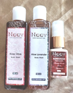 Neev body and face wash
